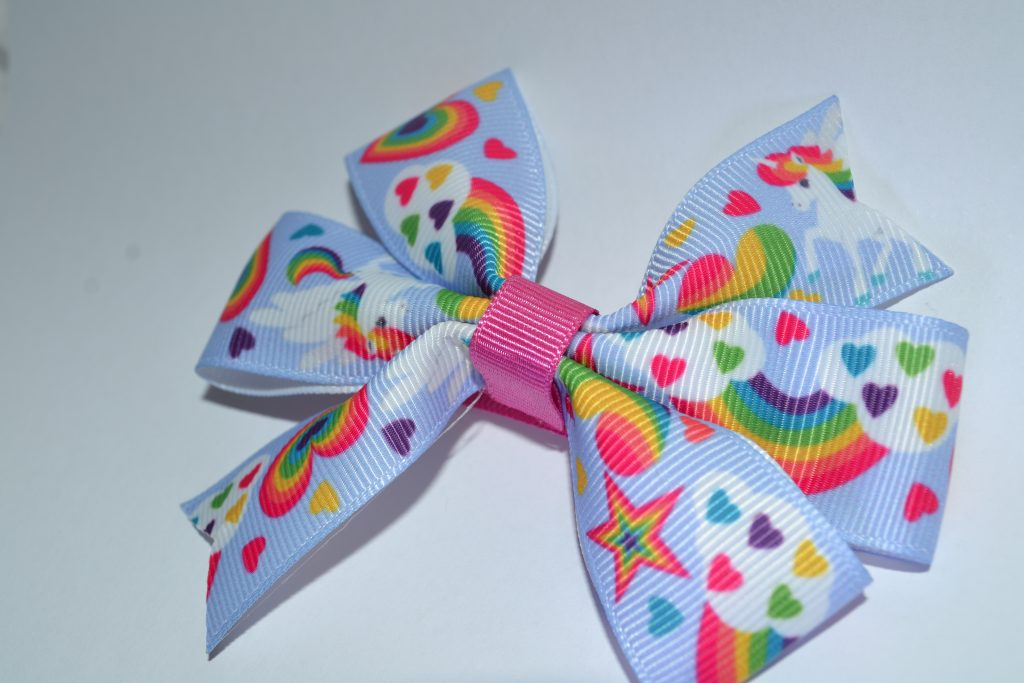 Unicorn Rainbow Bow