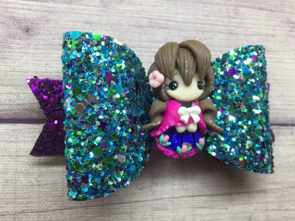 Anna Glitter Bow