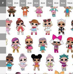 LOL Doll Bow Canvas - c0